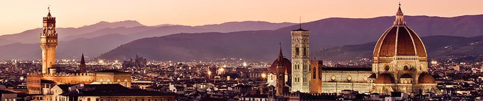 Italian Honeymoon  Tours 2017 - 2018 -  Florence Sunset
